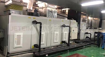 电池生产车间低湿转轮除湿机
