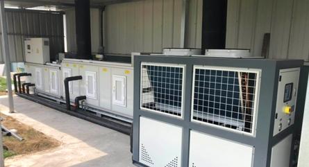 某大型动力电池公司镇江基地锂电实验室